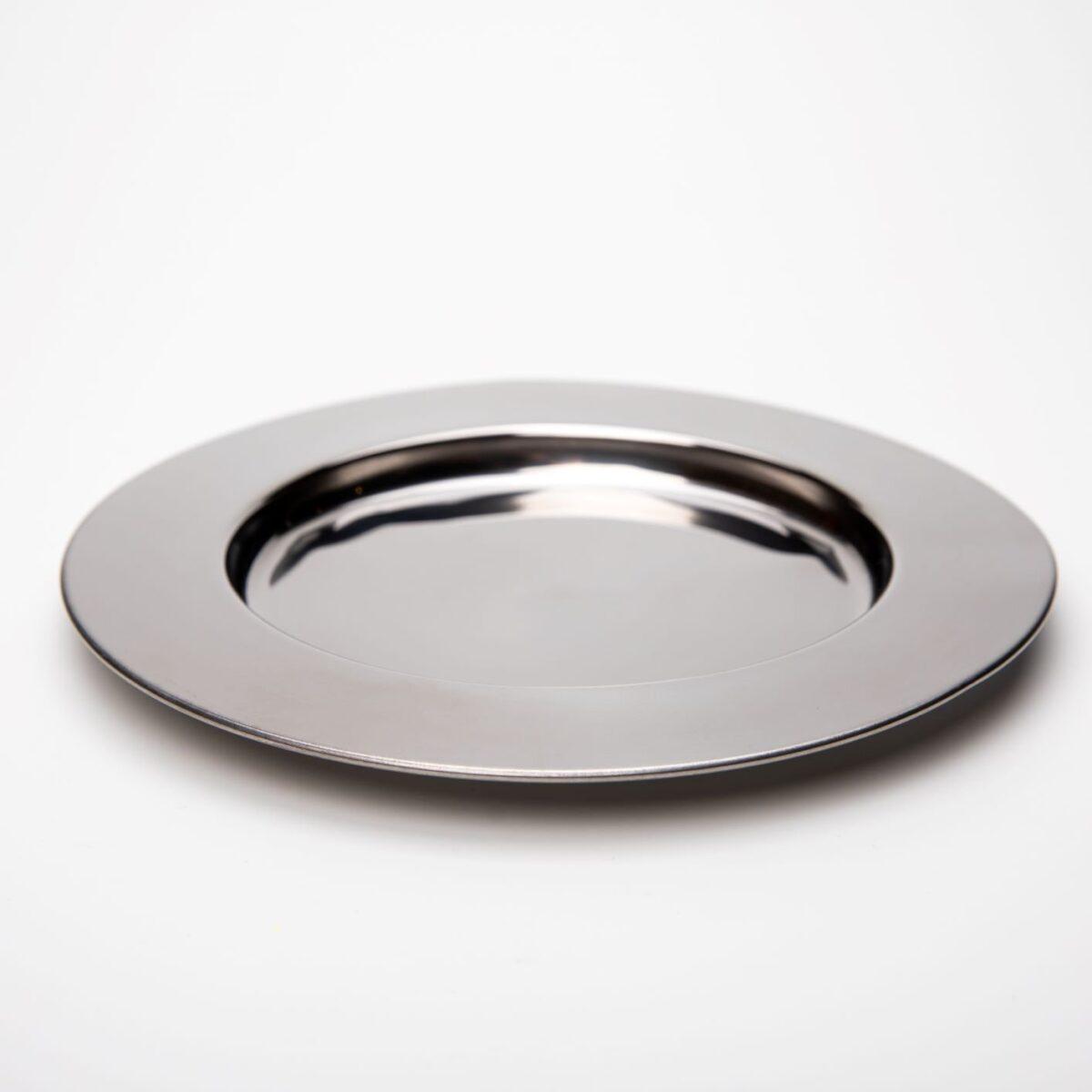 Nerezový talíř stainless steel 23,5 cm s vlastním textem nebo logem - 412342