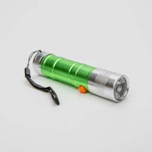 LED svítilna kapesní zelená outdoor s vlastním textem nebo logem - 213213