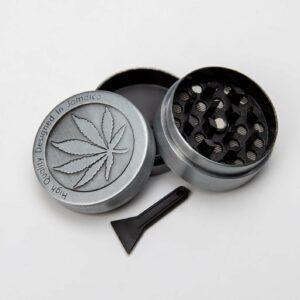 Drtička na tabák a bylinky kovová - 3 dílná s vlastním textem nebo logem - 987123