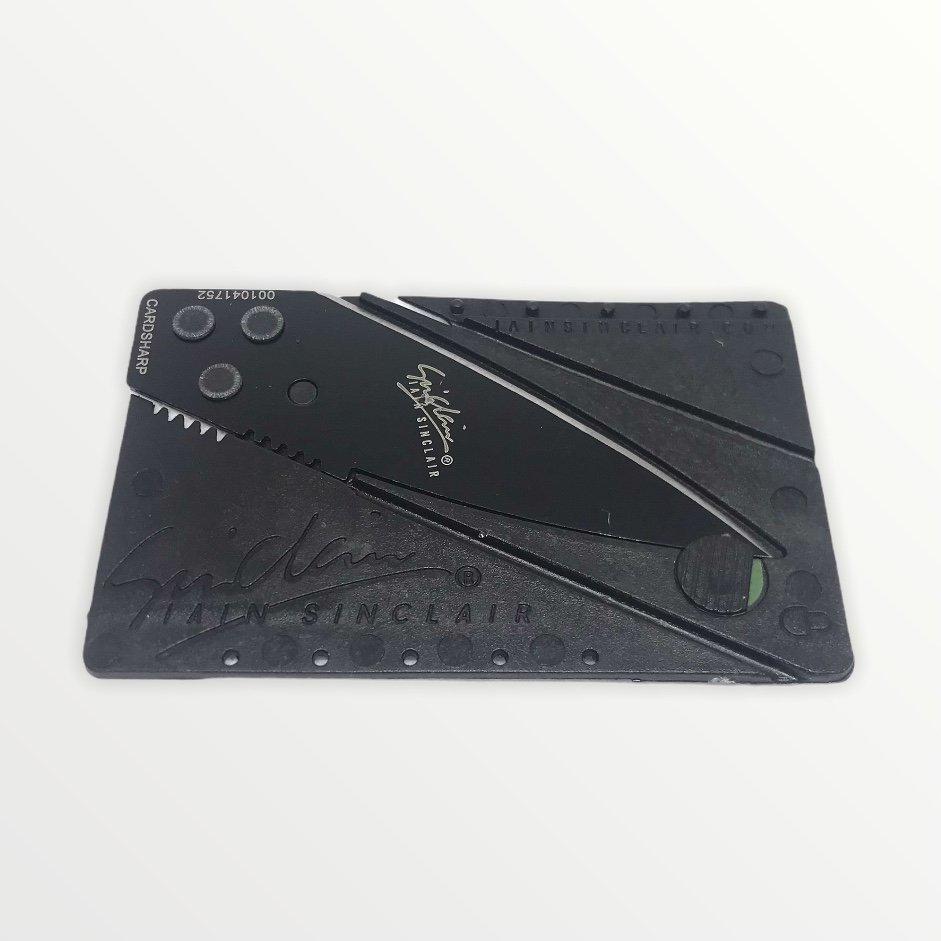 Karta se skrytým nožem do peněženky s vaším textem nebo motivem - 897979
